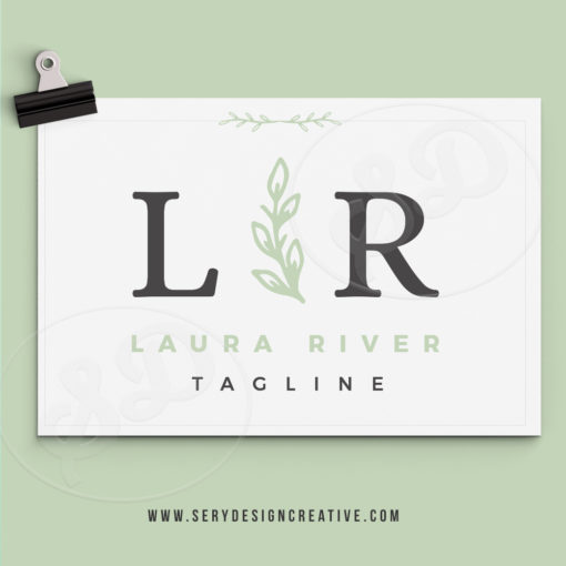 LAURA-RIVER-LOGO LEAF