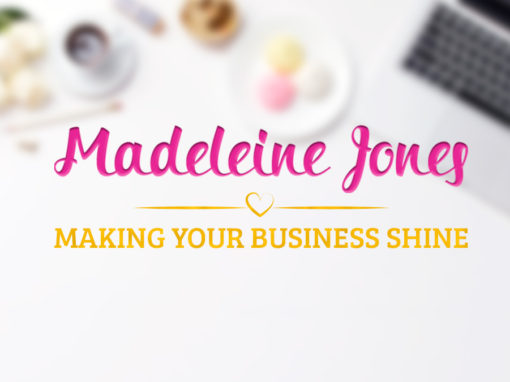 Madeleine Jones – Branding – Collateral – Web Elements Design