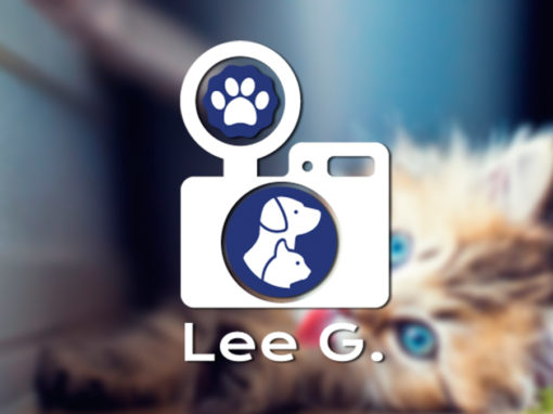 Lee Gardner Pet Photography Branding and Social Media Design