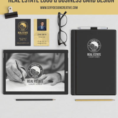 Real-Estate-Logo-Business-Card