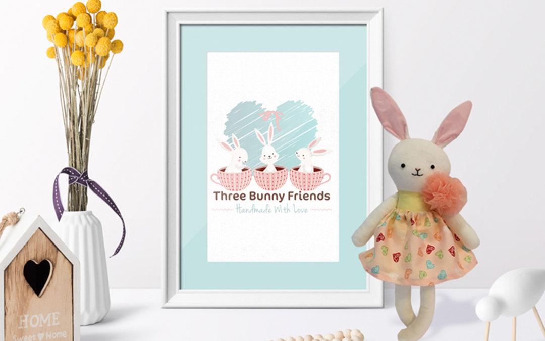 Three Bunny Friends