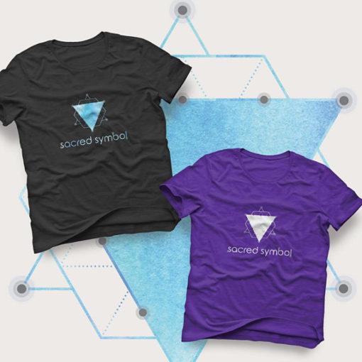 Sacred Geometry Mockup Shirt